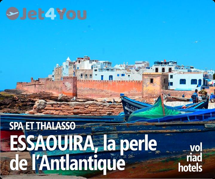 Vol pas cher et sélection d'hotels pour Essaouira